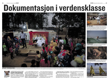 Espen Rasmussen in VG Magazine