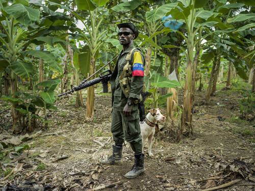 Mads Nissen's work on the Colombian peace process published in Politiken