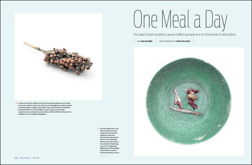 Chris de Bode's One Meal a Day published in The New Republic
