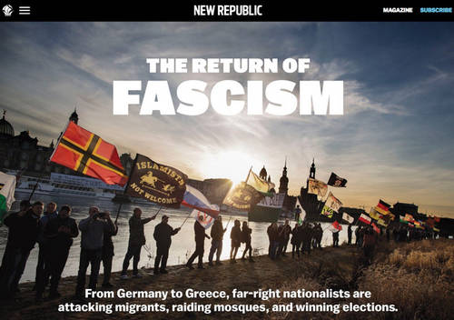 Espen Rasmussen's White Rage published in the New Republic