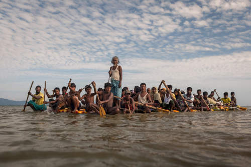 Patrick Brown wins Fotoevidence Book Award for Rohingya coverage