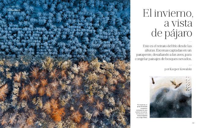 Kacper Kowalski published in El Pais Semanal