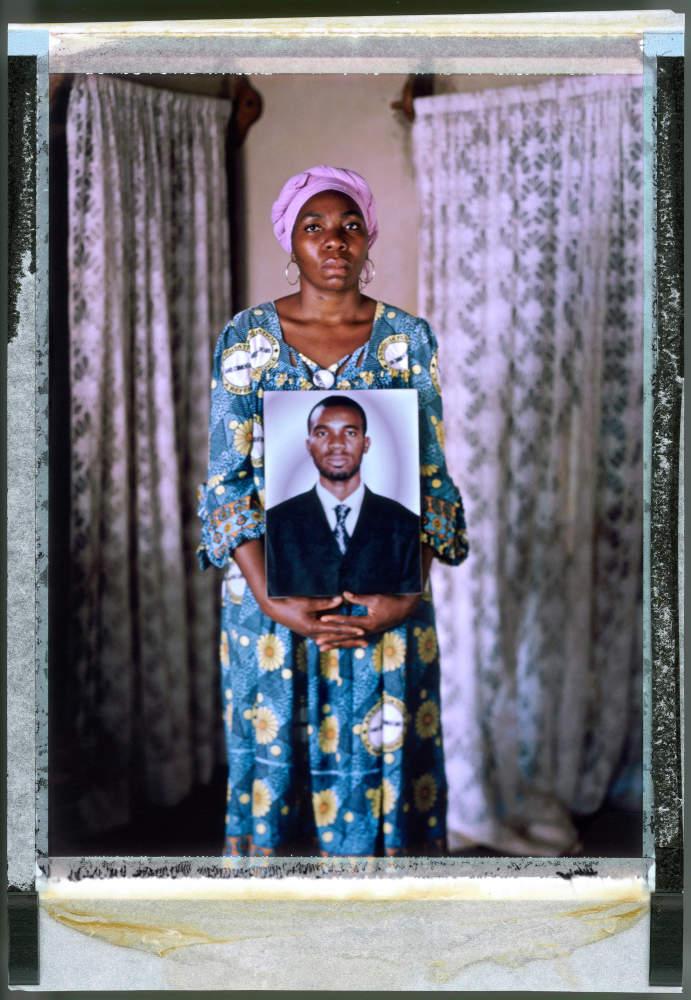 >Ndongo Alice, sister of Eric Lembembe