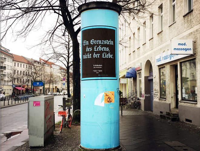 Berlin's iconic Litfaß columns
