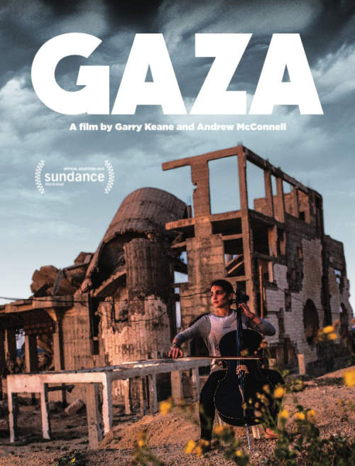 GAZA, by Andrew McConnell and Garry Keane, showing in Bradford, UK