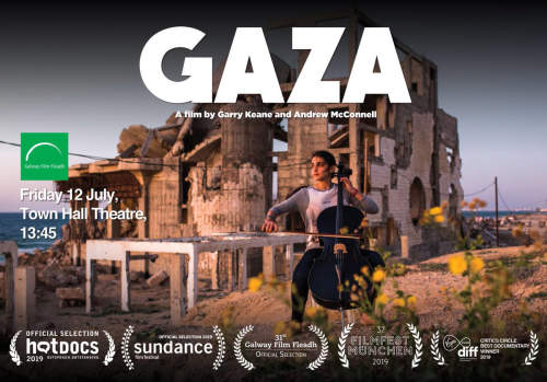 Andrew McConnell & Garry Keane's GAZA showing at Galway Town Hall Theatre