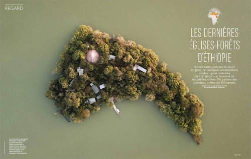 Kieran Dodds' Hierotopia published in French GEO Magazine