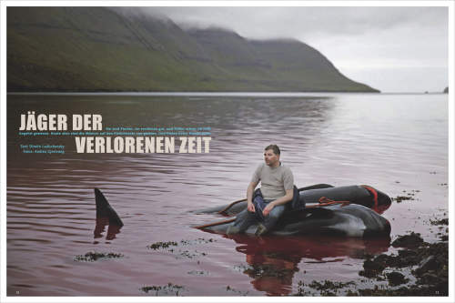 Andrea Gjestvang's Faroe Islands published in MARE Magazin