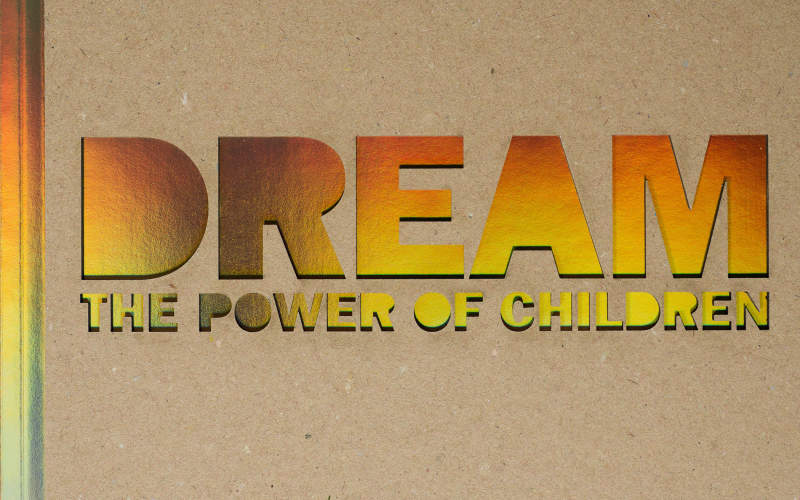 Chris de Bode's 'Dreams – The Power of Children' available to buy as a book