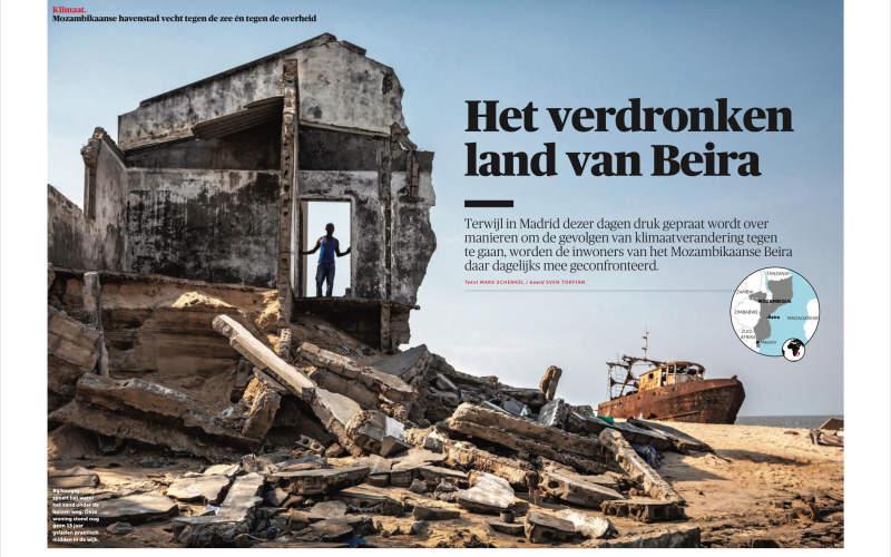 Sven Torfinn published in De Morgen