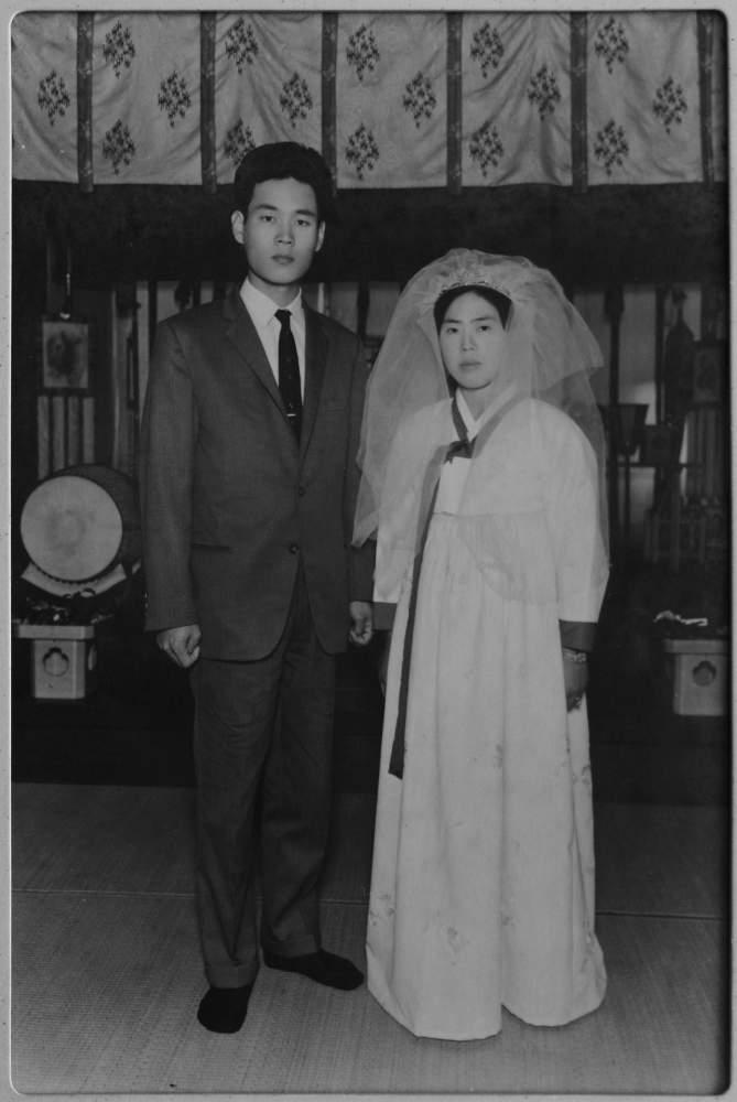 >Akiko Ota's wedding photo taken in 1965 copy