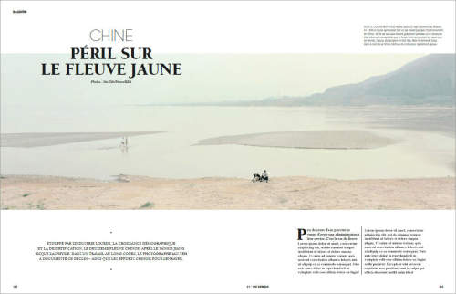 Ian Teh published in WE Demain in France