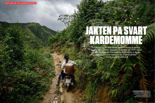 Ian Teh pubished in Vi Menn magazine