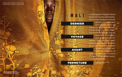Pascal Maitre in GEO France magazine