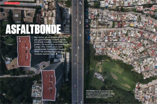 Luis Antonio Rojas published in Vi Menn magazine
