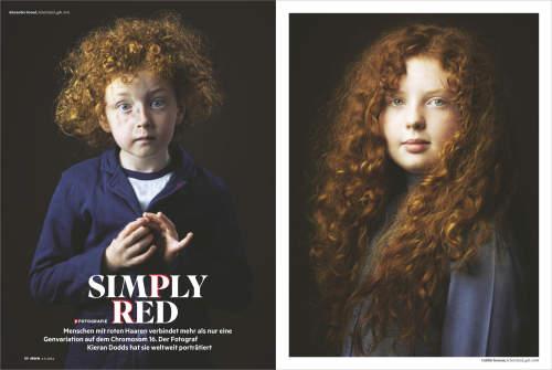 Kieran Dodds published in Stern Magazine in Germany