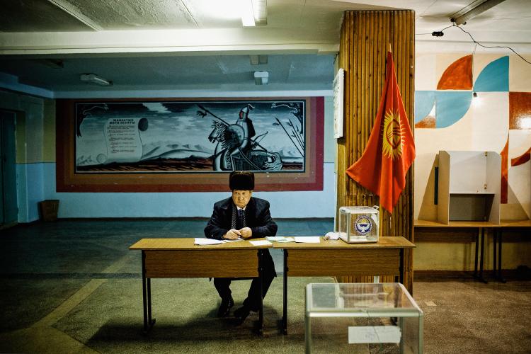 William Daniels exhibiting at Estação Imagen in Coimbra, Portugal