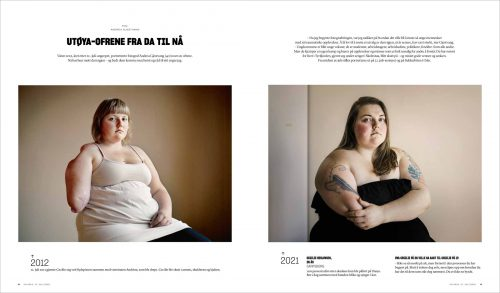 Andrea Gjestvang published in VG magazine in Norway