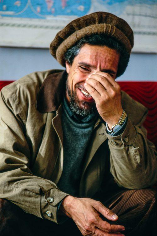 Ahmad Shah Massoud, the 'Lion of Panjshir', by Pascal Maitre