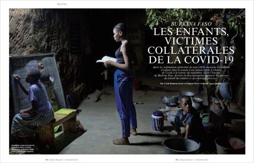 Laurent Weyl published in Le Figaro magazine